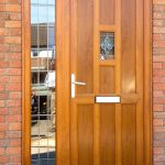 Oak colour door