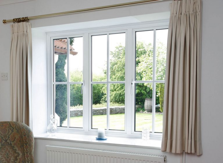 White standard windows upgraded