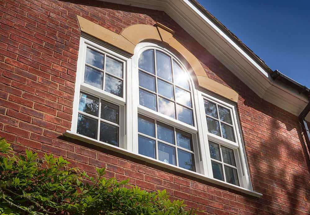 Traditional style sliding sash windows