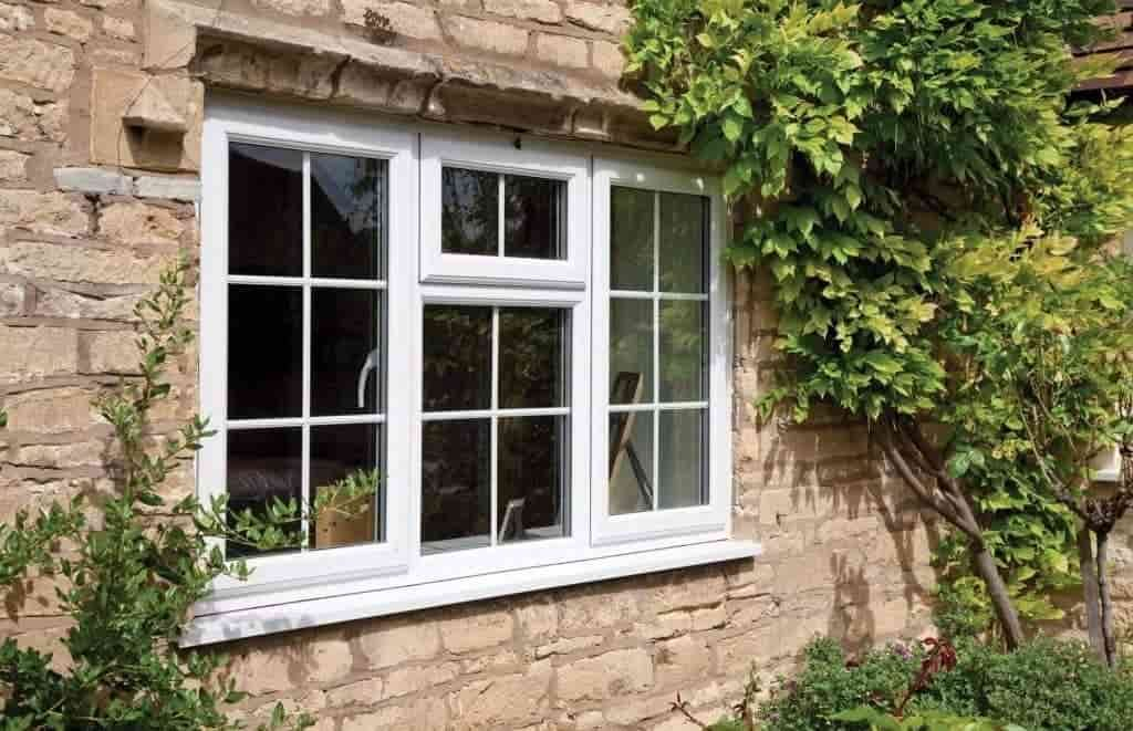 Standard windows fitted