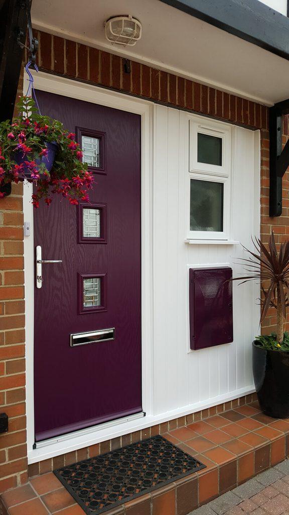 Purple composite Virtuoso Door